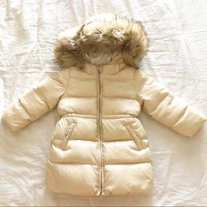 GAP Jackets & Coats - Baby Gap Gold Parka Coat